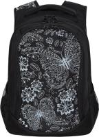 Школьный рюкзак Grizzly RD-141-1 (черный) -