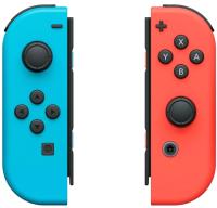 Комплект игровых контроллеров движения Nintendo Switch Joy-Con / 045496430566 (красный/синий) -
