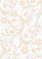 Декоративная плитка Березакерамика Нарцисс бежевый (250х350) -
