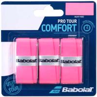 Грип для большого тенниса Babolat Pro Tour X3 / 653037-156 (3шт, розовый) -