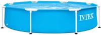 Каркасный бассейн Intex Metal Frame 28205 (244х51) -