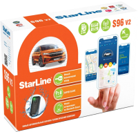Автосигнализация StarLine S96BT v2 GSM-GPS -