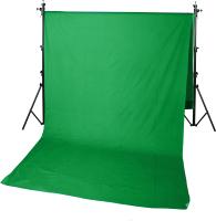 Фон тканевый GreenBean Field 3.0 x 7.0 Green / 21577 -