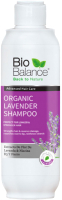 Шампунь для волос Bio Balance Органический с экстрактом лаванды для всех типов волос (330мл) -