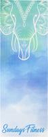 Коврик для йоги и фитнеса Sundays Fitness Elephant IR97567 -