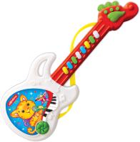 Музыкальная игрушка Азбукварик Веселая гитара / AZ-2576В (красный) -