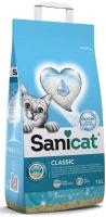 Наполнитель для туалета Sanicat Classic Marseille (10л) -