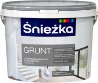 Краска Sniezka Grunt (10л, белый) -