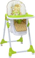 Стульчик для кормления Polini Kids Disney Baby 470. Король лев (зеленый) -