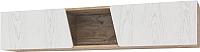 Шкаф навесной Мебель-КМК Лайт 0551.2 (дуб юккон/дуб полярный) -