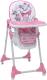 Стульчик для кормления Polini Kids Disney baby 470 Кошка Мари (розовый) -