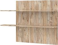 Полка Мебель-КМК Лайт 0551.4 (дуб юккон/дуб полярный) -