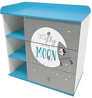 Комод Polini Kids Disney baby 5090 Микки Маус (белый/серый) -