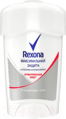 Дезодорант-крем Rexona Максимальная защита антибактериальный эффект (45мл)