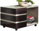 Журнальный столик Мебель-КМК Хилтон 0651.25 (капучино светлый/мокко глянец) -