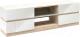 Тумба Мебель-КМК Хилтон 0651.20 (дуб санома/белый глянец) -