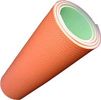 Туристический коврик Isolon Camping (12мм, зеленый/оранжевый) -