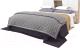 Двуспальная кровать Мебель-КМК 1600 Лайт 0551.11 (дуб юккон/дуб полярный) -