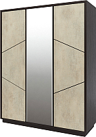 Шкаф Мебель-КМК Нирвана 3Д 0555.7 (дуб кентерберри т./камень серый) -