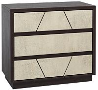 Комод Мебель-КМК Нирвана 0555.14 (дуб кентерберри т./камень серый) -