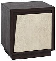 Прикроватная тумба Мебель-КМК Нирвана 1Д 0555.8 (дуб кентерберри т./камень серый) -