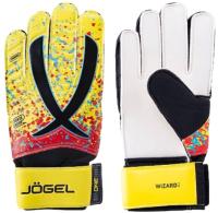 Перчатки вратарские Jogel One Wizard AL3 Flat (желтый, р-р 4) -