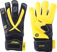 Перчатки вратарские Jogel One Wizard SL3 Roll-hybrid (черный, р-р 10) -