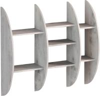 Полка Мебель-КМК Атланта 1 0741.9 (бетон пайн светлый) -