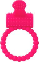 Виброкольцо ToyFa A-Toys / 769005 (розовый) -