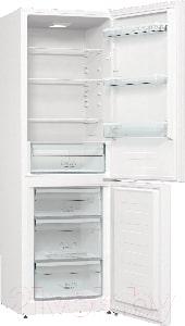 Холодильник с морозильником Gorenje RK6191EW4