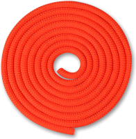Скакалка для художественной гимнастики Indigo SM-123 (3м, коралловый) -
