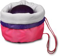 Чехол для гимнастического мяча Indigo SM-335 (розовый) -