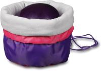 Чехол для гимнастического мяча Indigo SM-335 (фиолетовый) -