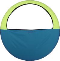 Чехол для гимнастического обруча Indigo SM-083 (голубой/желтый) -