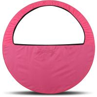 Чехол для гимнастического обруча Indigo SM-083 (розовый) -