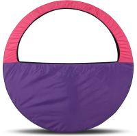 Чехол для гимнастического обруча Indigo SM-083 (фиолетовый/розовый) -