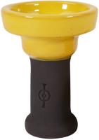 Чаша для кальяна Orden Da Vinci New глазурь желтая / AHR01741 -