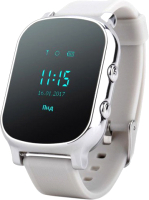 Умные часы детские Wonlex GW700/T58 (серебристый) -