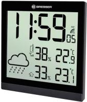 Метеостанция цифровая Bresser TemeoTrend JC LCD / 73267 (черный) -