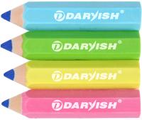 Набор ластиков Darvish Карандаши / DV-12174 (4шт) -