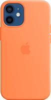 Чехол-накладка Apple Silicone Case With MagSafe для iPhone 12 Mini Kumquat / MHKN3 -