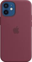 Чехол-накладка Apple Silicone Case With MagSafe для iPhone 12 Mini Plum / MHKQ3 -