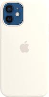 Чехол-накладка Apple Silicone Case With MagSafe для iPhone 12 Mini White / MHKV3 -