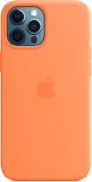 Чехол-накладка Apple Silicone Case With MagSafe для iPhone 12 Pro Max Kumquat / MHL83 -