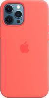 Чехол-накладка Apple Case With MagSafe для iPhone 12 Pro Max Pink Citrus / MHL93 -