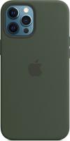 Чехол-накладка Apple Case With MagSafe для iPhone 12 Pro Max Cypress Green / MHLC3 -