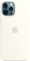 Чехол-накладка Apple Silicone Case With MagSafe для iPhone 12 Pro Max White / MHLE3 -