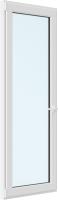 Дверь балконная Brusbox Elementis Kale Поворотно-откидная без импоста левая 3 стекла (2000x600x70) -