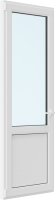 Дверь балконная Brusbox Elementis Kale Поворотно-откидная внизу с/п левая 3 стекла (2200x800x70) -