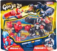 Набор фигурок GooJitZu Человек-Паук и Веном / 38390 -